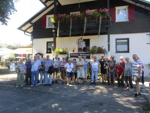 Eine beeindruckende Ausfahrt ins Naturjuwel Breitachklamm machten die Senioren aus Feldkirch.Seniorenring OG Feldkirch