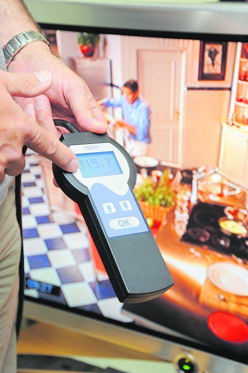 Eine Messung aller nicht fest angeschlossenen Geräte ist möglich. vkw
