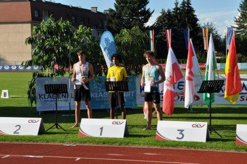 Eine neue starke Bestweite beim Weitsprungwettbewerb wurde belohnt.KLV/Ladinig u. Albel/TS Gisingen
