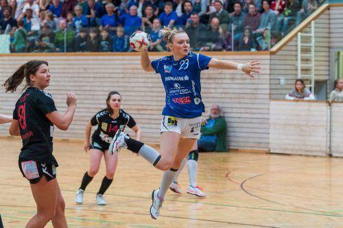 Laura Seipelt und BW Feldkirch gehen als Favoriten ins Derby gegen den SSV. Stiplo