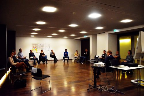 Erste Ideen für die Nutzung der Häusle-Villa wurden im Workshop diskutiert.