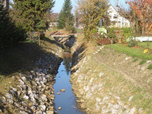 Erweiterung möglich oder zu aufwendig: Die Erweiertung der Fußach bleibt Gesprächsthema in der Rheindeltagemeinde.Dorfgeschichteverein Fußach