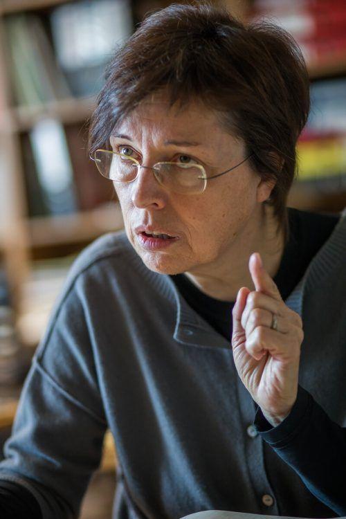 Eva Grabherr leitet seit 2001 die die Projektstelle okay.zusammen leben.VN/Steurer