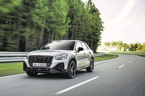 Facelift für den Audi Q2: Neue Tagfahrlichtgrafik und modifizierter Kühlergrill.