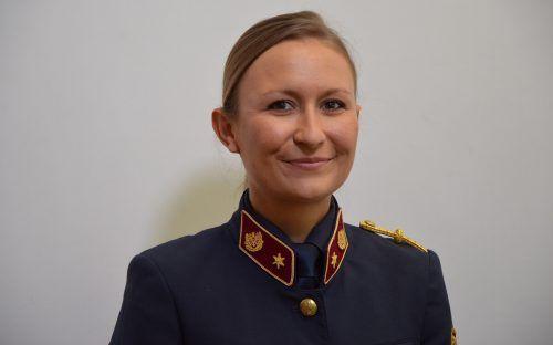 Tatjana Ratz (31) hat die Karriereleiter bei der Polizei erklommen. Polizei