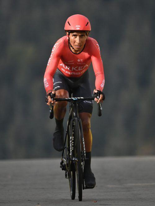 Für Arkea-Kapitän Nairo Quintana ist Doping kein Thema.ap