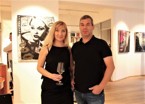 Gäste-Duo Natalia Fulterer und Markus Schneider.