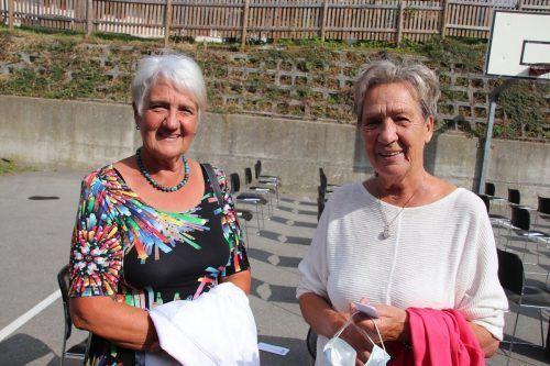 Gästeduo: Hildegard Marolt und Ingrid Widmer.