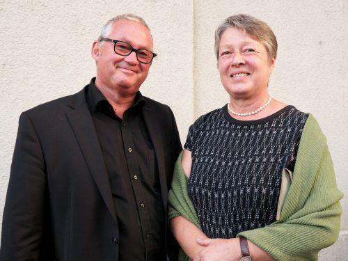 Gästepaar Heidi und Werner Döring (Kuges).