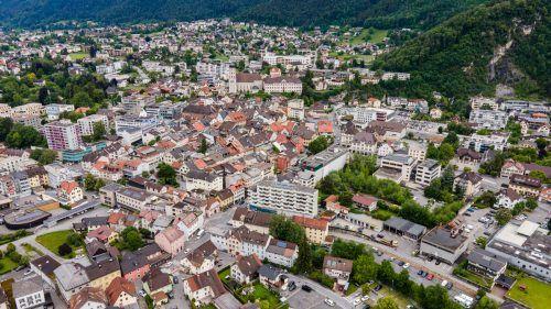Geht es nach einer neu formierten Bürgerinitiative, soll in Bludenz weiteren Großbauprojekten in der Alpenstadt künftig Einhalt geboten werden.VN/Lerch