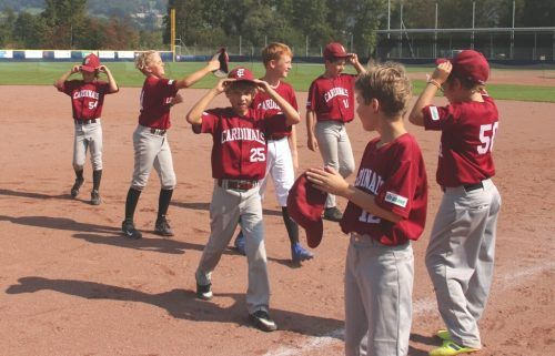 Gleich drei Spiele hatte die Nachwuchsmannschaft der Feldkirch Cardinals zu bewältigen. BSC Feldkirch