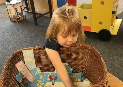 Glücksfee Ida zog die Gewinner der diesjährigen Aktion Sommerlesen, diese wurden alle bereits schriftlich verständigt. Mäser