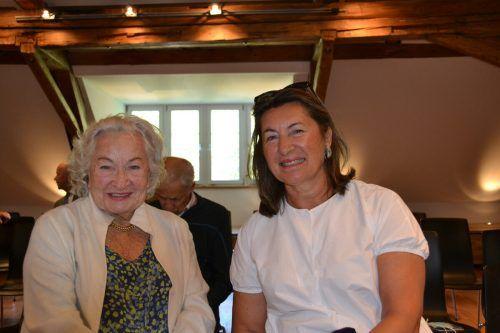 Gretl und Sabine Purtscher ließen sich die Veranstaltung nicht entgehen.