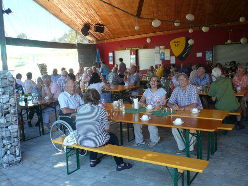 Grillnachmittag des Seniorenbundes Höchst.sb