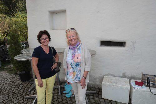 Helene Schobel und Birgit Getzner waren begeistert.