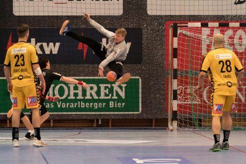 Heute Abend steigt Handball Bregenz mit der Auftaktpartie gegen die HSG Graz in die neue Handball-Saison ein.gepa