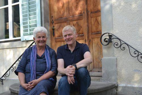 Hildegard und Helmut Schlatter bieten in der Artenne Nenzing auch in Zeiten von Covid-19 ein vielseitiges Kulturprogramm.BI