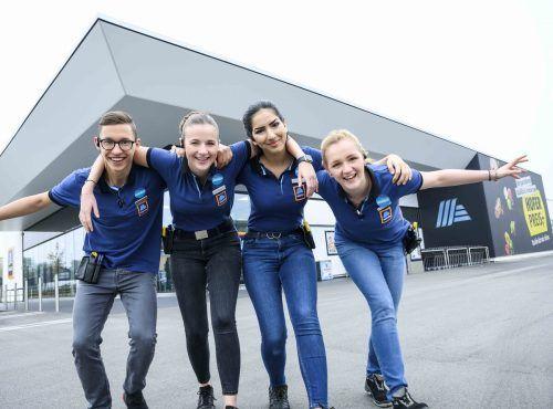 Hofer 19 Jugendliche starten heuer ihre Lehre im Einzelhandel. Zum Lehrstart gab es auch dieses Jahr einen spannenden Welcome Day für die Jugendlichen.