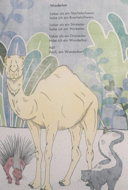 """Illustration aus dem neuen Buch """"Gute Reise, Eierspeise""""."""