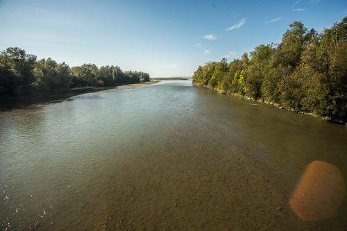 Im Bereich der Bregenzerach werden unter anderem Maßnahmen zum Hochwasserschutz durchgeführt.