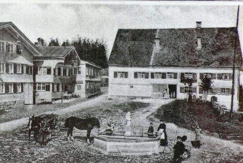 Im Gasthaus Bären begannen die Käserebellen 1860, Heumilch eigenständig zu verarbeiten.