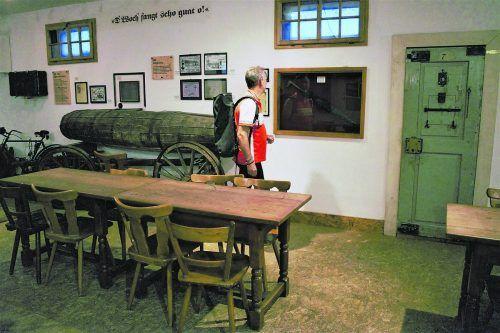 Im Keller des Maisacher Bräustüberls verstecken sich einige Schätze.Gerhard von Kapff (srt)