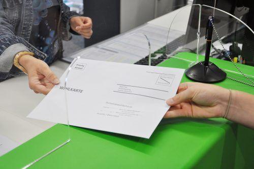 Mehrere Wahlkarten sollen bei der Gemeindewahl im September 2020 in Bludenz gefälscht worden sein. Stadt bludenz