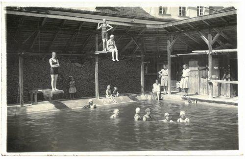 Im Sternbräu Rankweil gab es früher eine Badeanstalt.