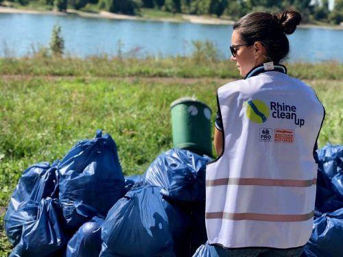 Im Vorjahr haben über 20.000 Freiwillige 170 Tonnen Unrat entlang des Rheins gesammelt. Heuer sind bereits mehr als 270 Gruppen registriert. Veranstalter