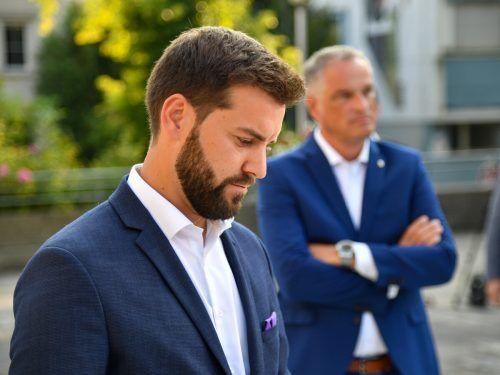 In Bludenz kommt es zur erwarteten Stichwahl zwischen Simon Tschann (l.) und Mario Leiter, wobei der Newcomer leicht die Nase vorne hat.