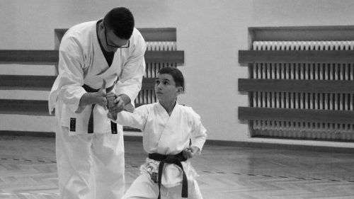 In Bludenz wird im Stil des traditionellen Shotokan Karates trainiert.Sarah Bernadi