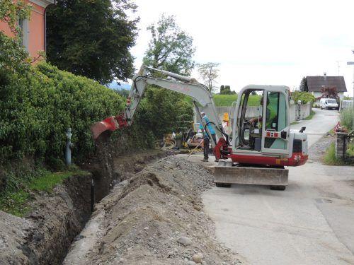 In Bregenz werden ab Ende September neue Leitungen verlegt, die Arbeiten dauern rund acht Wochen.