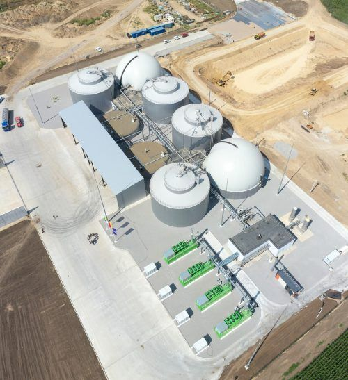 In der Ukraine wurde eine Biogasanlage mit einer Leistung von 5,5 Megawatt in Betrieb genommen - das Auftragsvolumen für AAT lag bei vier Millionen Euro. AAT