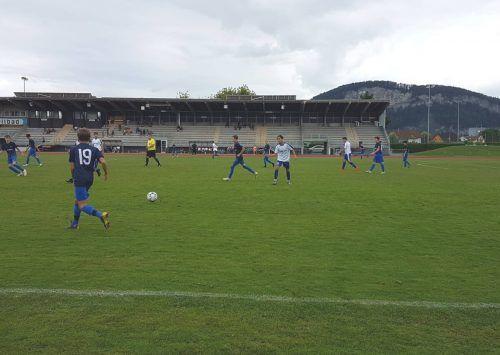 In einem torreichen Spiel zum Saisonbeginn mussten sich die U16-Spieler der Admira Dornbirn gdem FNZ Mittelwald eschlagen geben.mima