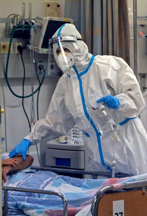 In Israel steigt die Zahl der Coronainfizierten weiter an.AFP