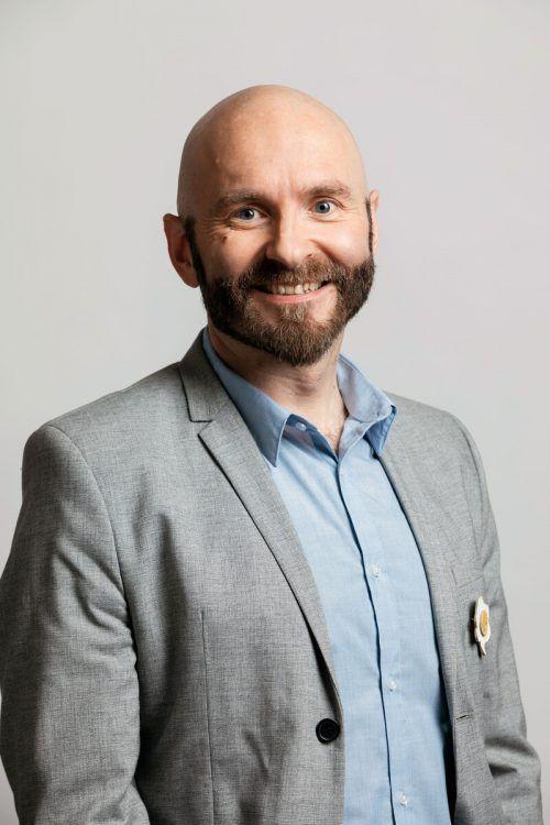 Jürgen Schacherl (42) für die Grünen und Parteifreien Bürs.