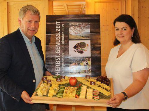 Käsewirt Lothar Eiler und Geschäftsführerin Nicole Wolf-Vöhl können auch heuer allen Widrigkeiten zum Trotz ein attraktives Programm bieten. STP/3