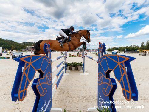 Katharina Rhomberg zeigte tolle Leistung beim Grand-Prix in Salzburg.OEPS