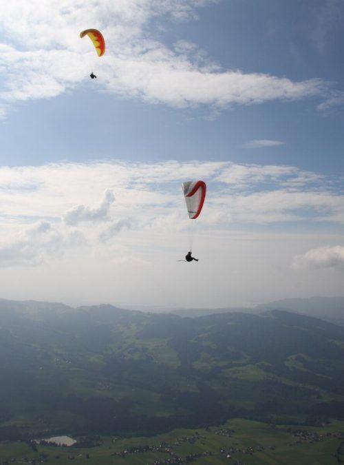 Kein Glück mit der Landung hatte am Mittwoch eine Französin. symbol/vol