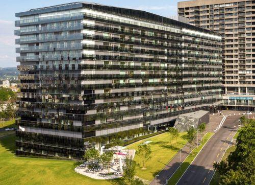 Kreislaufwirtschaft: Grüner Spitalbau in Zürich aus Recyclingmaterial.