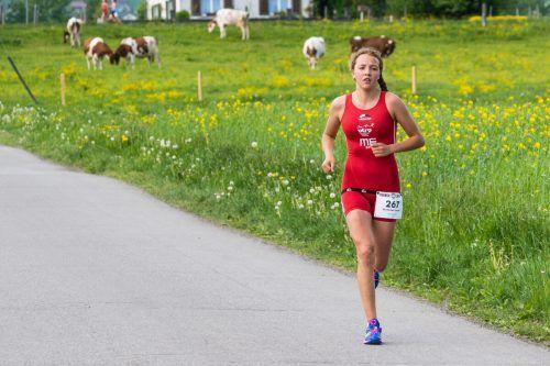 Larissa Burtscher war die Schnellste.