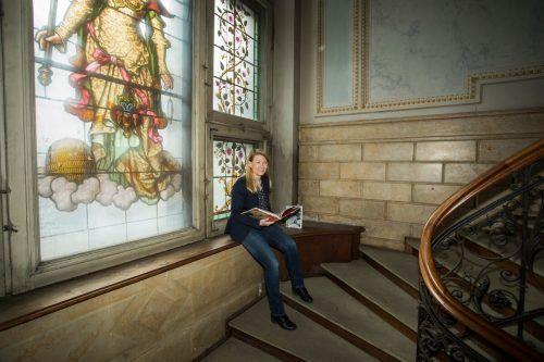 Frauke Kühn, Geschäftsführerin des Literaturhauses Vorarlberg, hat noch Großes vor. VN/Paulitsch