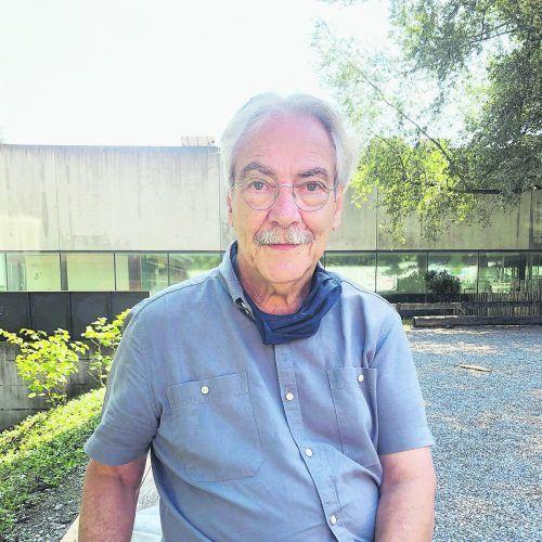 Ludwig Rüdisser misst beruflich die Luftqualität in Räumen. VN/GEr