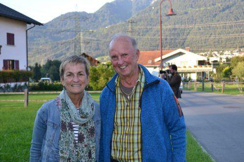 Maria und Gebi Reiner waren von KonzArt begeistert.