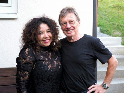 Maria und Herbert Dünser (Obmann Kulturausschuss).