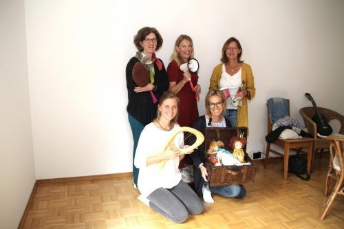 Maria Weger, Magdalena Fingerlos, Monika Schwärzler, Karin Widmer und Birgit Drexler. Heilmann