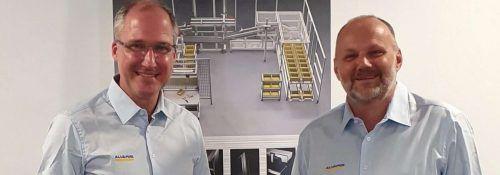 Markus Feil und Manfred Filzmaier bilden das Management bei Alvaris. Alvaris
