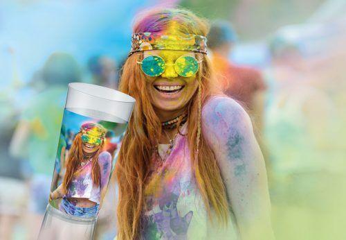 Mehrwegbecher gibt es nun auch im hochwertigen Digitaldruck. cupconcept