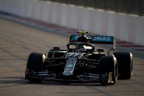 Mercedes-Dominanz am ersten Trainingstag. Valtteri Bottas war in beiden Trainingssessions der Schnellste. apa