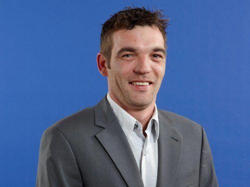 Michael Pointner (41) für die FPÖ Mäder und Parteiunabhängige.